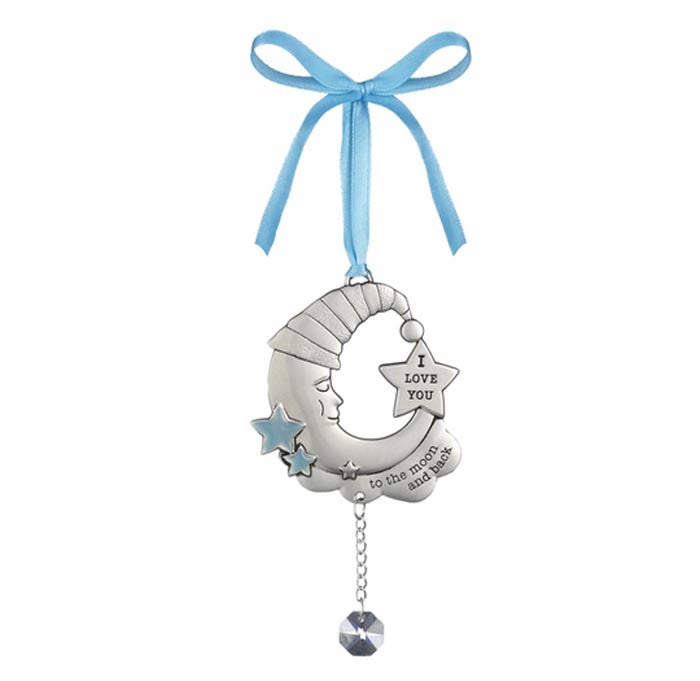 Welcome Baby Ornament Blue