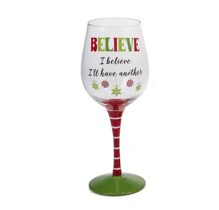 Wine Glass - I Believe I'll Have Another