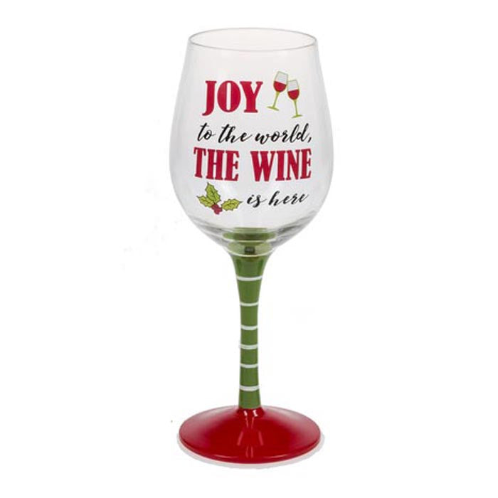 Wine Glass - The Wine Is Here