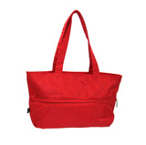 Expandable Tote Mandarin Red