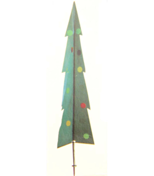 Stake Christmas Trees: Garden Stake Christmas Tree 8 Foot