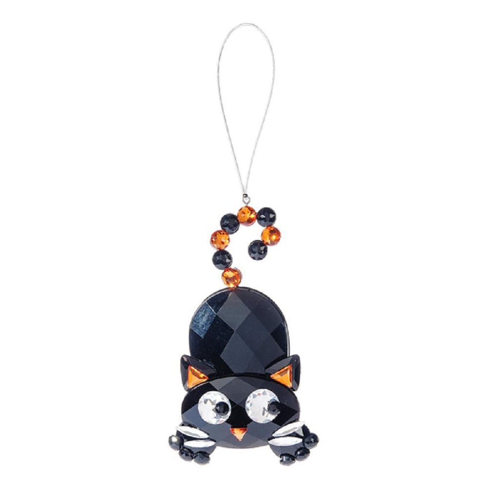 Halloween Cat Ornament-Orange