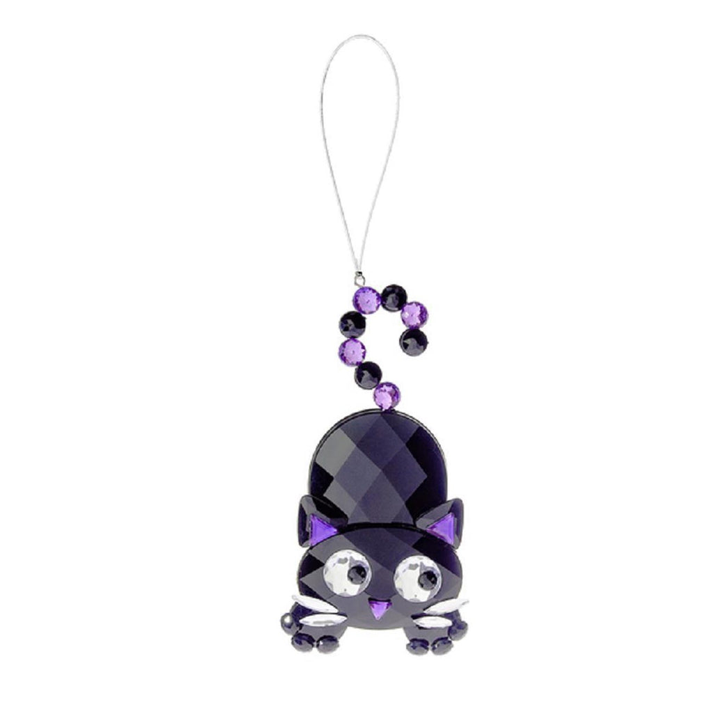 Halloween Cat Ornament-Purple
