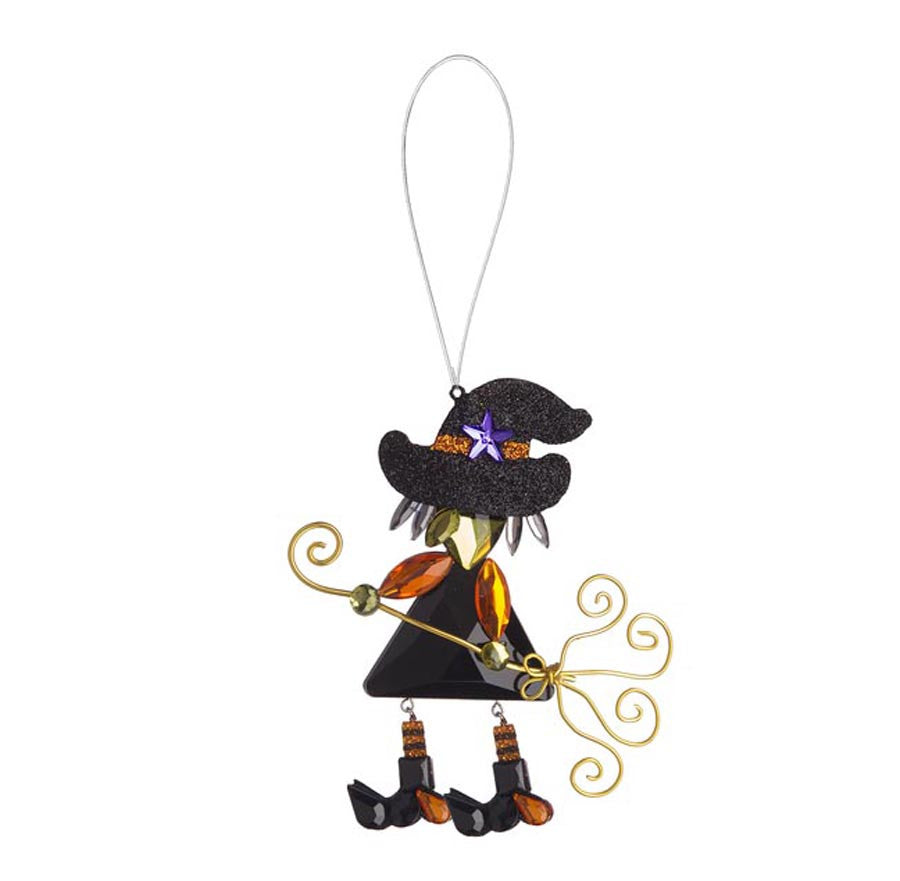 Witch Ornament Orange