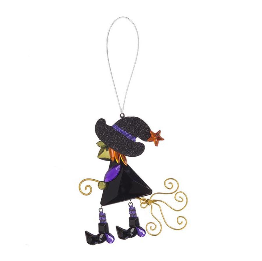 Witch Ornament Purple