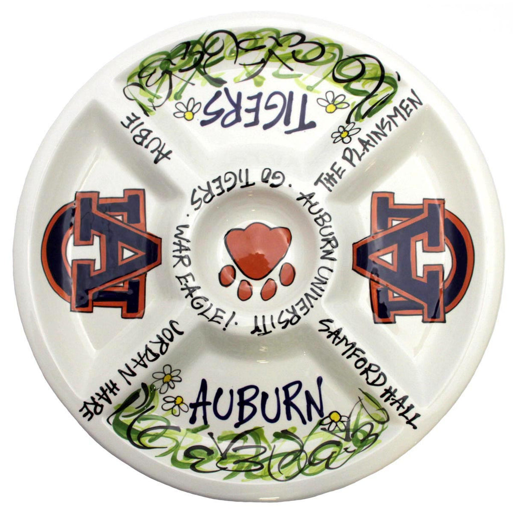 Collegiate Auburn University Platter