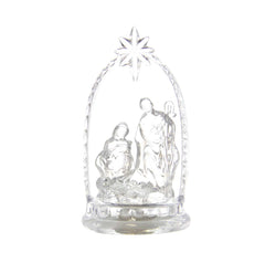 Lighted Holy Family Design