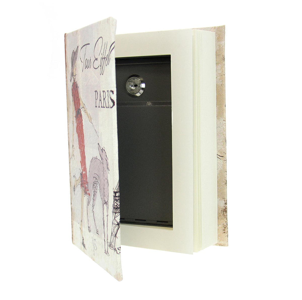Book Lock Box w/Lady