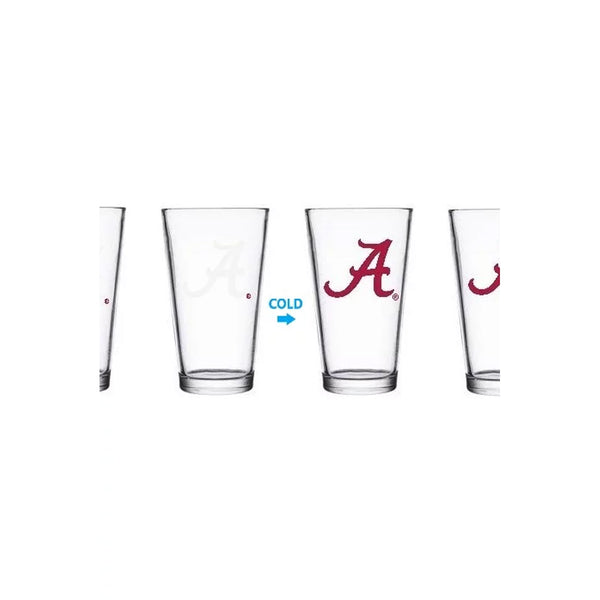 Alabama Color-Changing Pint Glass