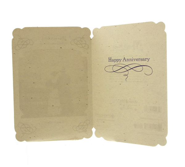 Anniversary Card: The best thing to hold on to...
