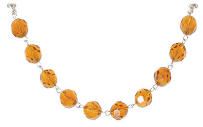 Magnificent Trimmings Chain - Amber