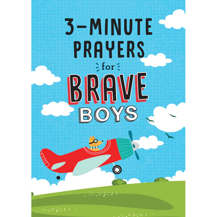 3-Minute Prayers For Brave Boys