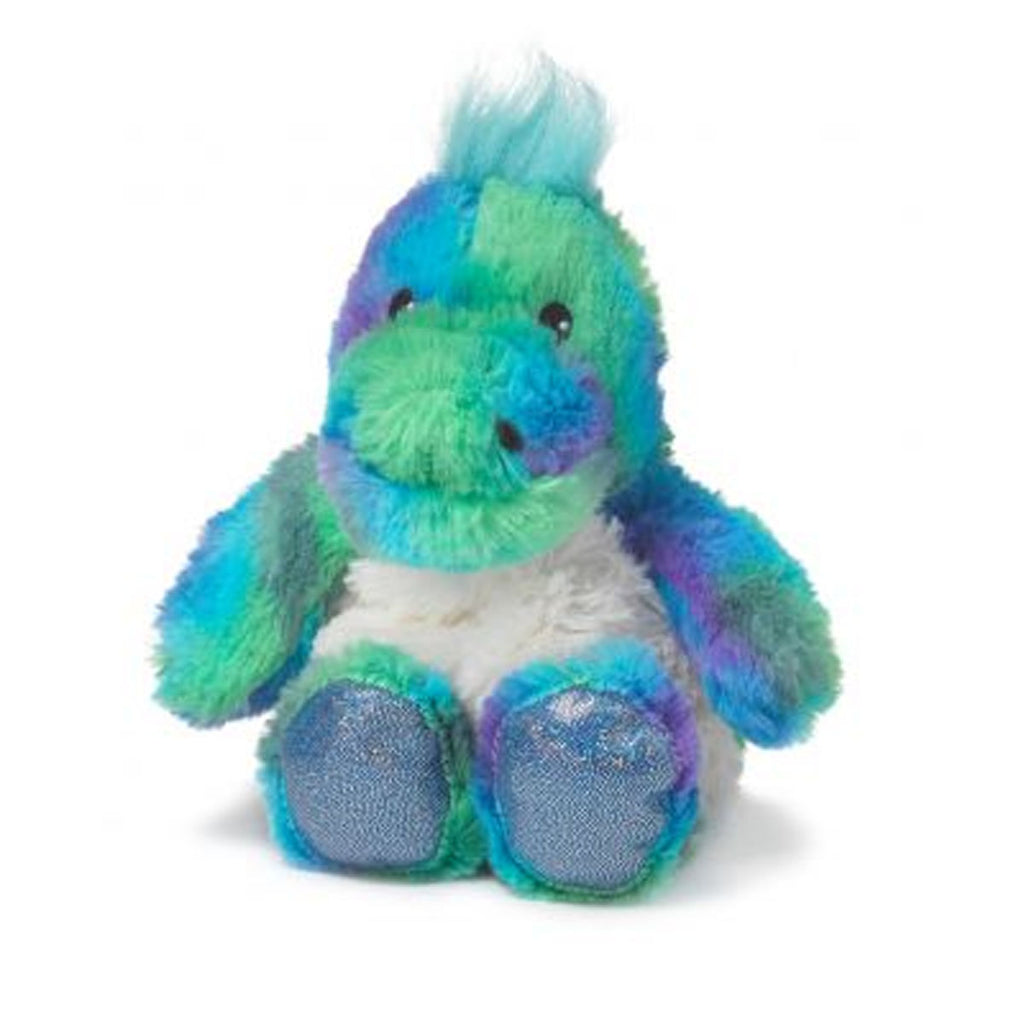 "Warmies® 9"" Junior Rainbow Dinosaur"