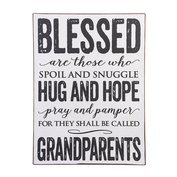 """Blessed are those who..."" Wall Plaque"