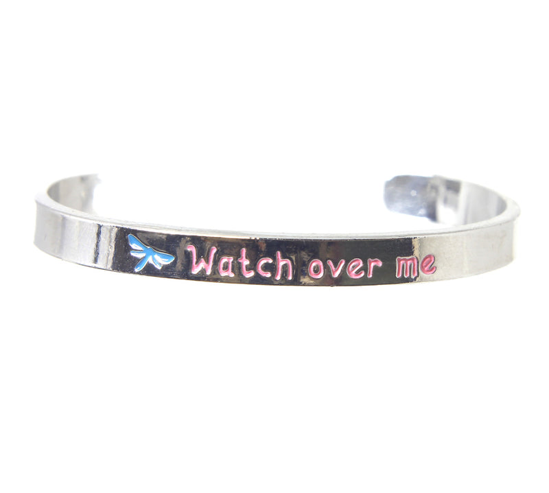Junior Inspirational Mantra Cuff Style Bracelets