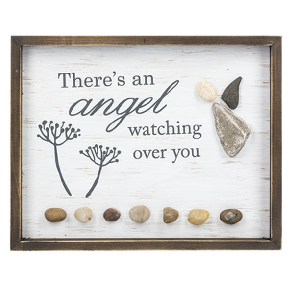 Angel Watching You Wall Plaque