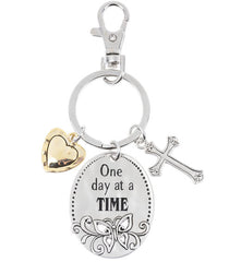 One day at a TIME-Keychain