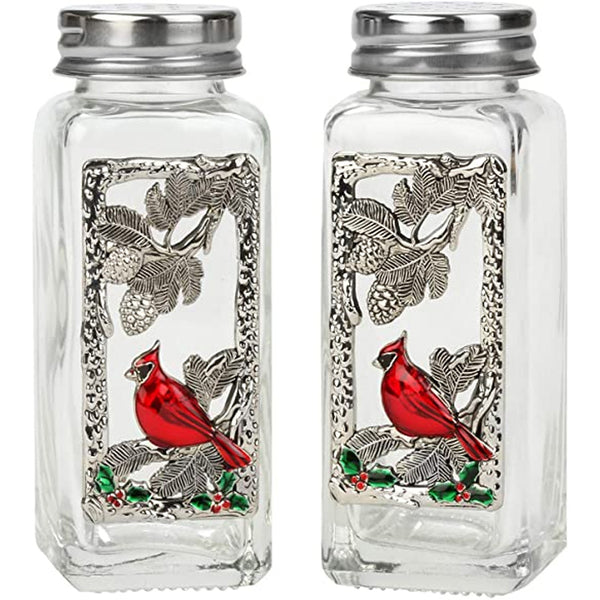 Cardinals Salt and Pepper Shaker Set