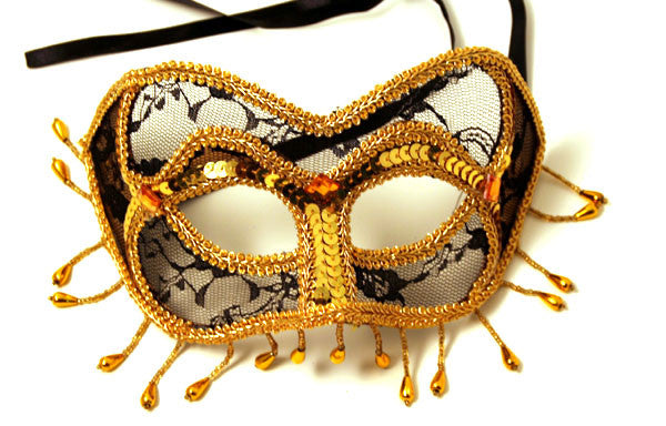 Sugar Spice Eye Mask Black