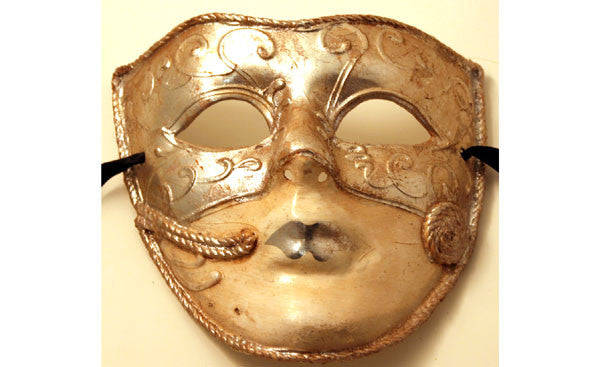 Deception Silver Mask
