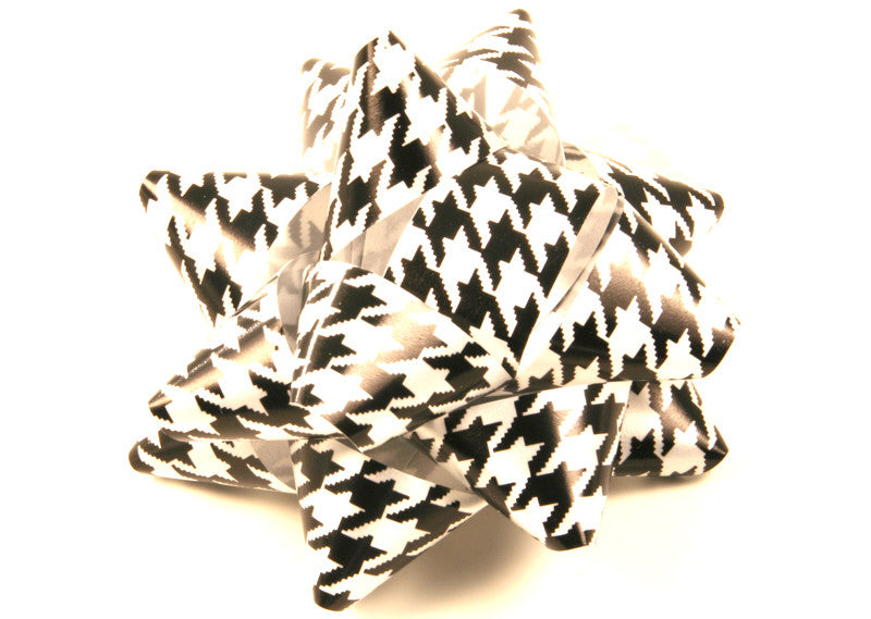 Houndstooth Gift Bow