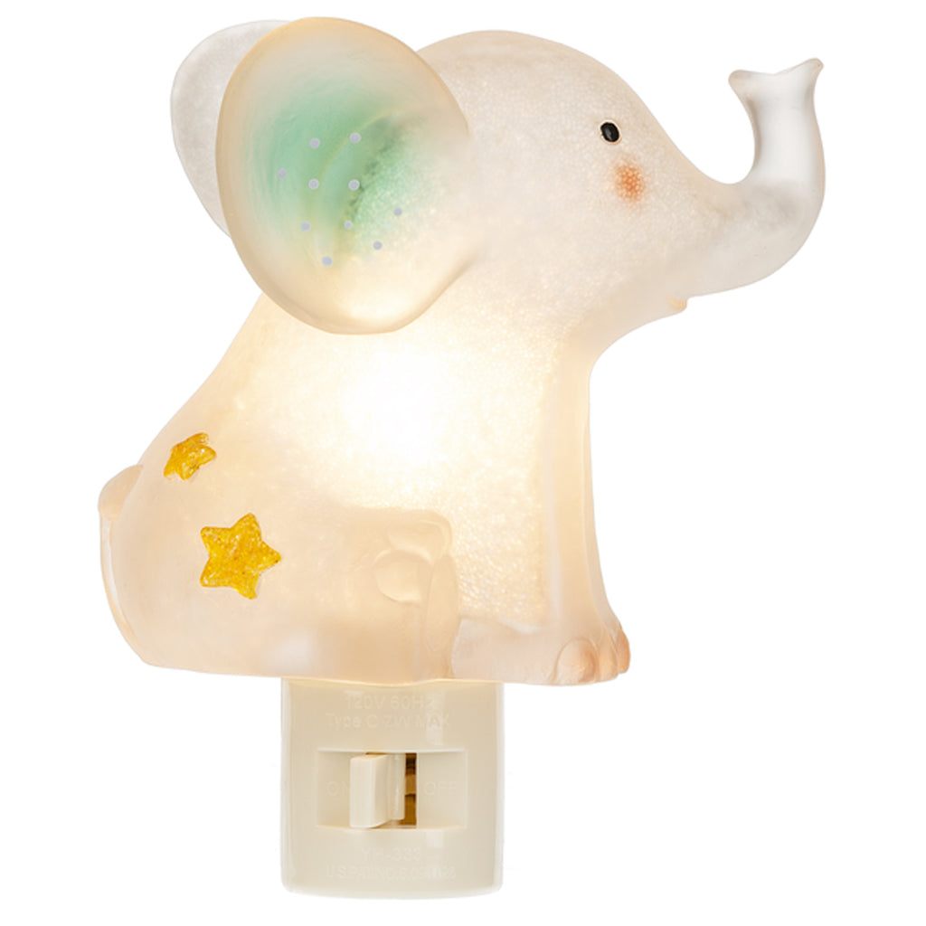 Off Switch Midwest CBK  Baby Girl Booties Pink Night Light Nursery Gift On