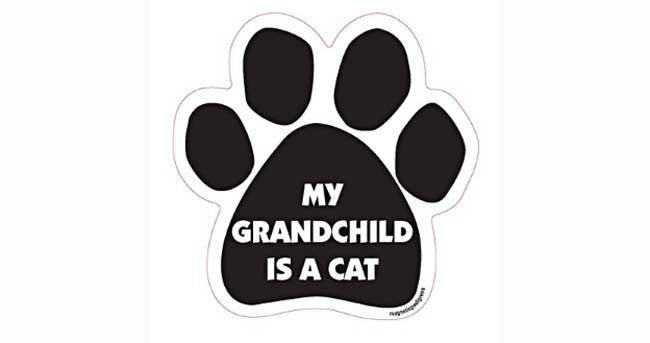 Paw-shaped Magnet Grand Child