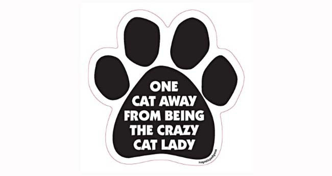 Paw-shaped Magnet Crazy