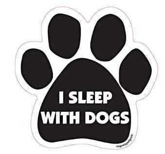 Paw-shaped Magnet Sleep with Dogs