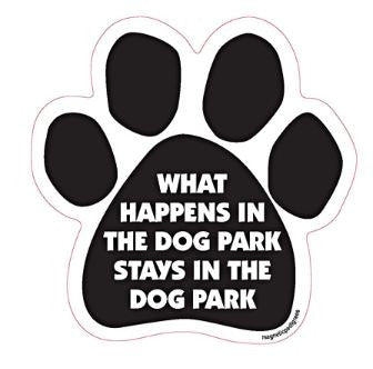 Paw-shaped Magnet Park