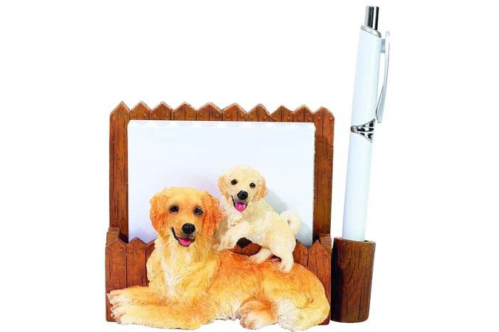 Note Holder Golden Retriever