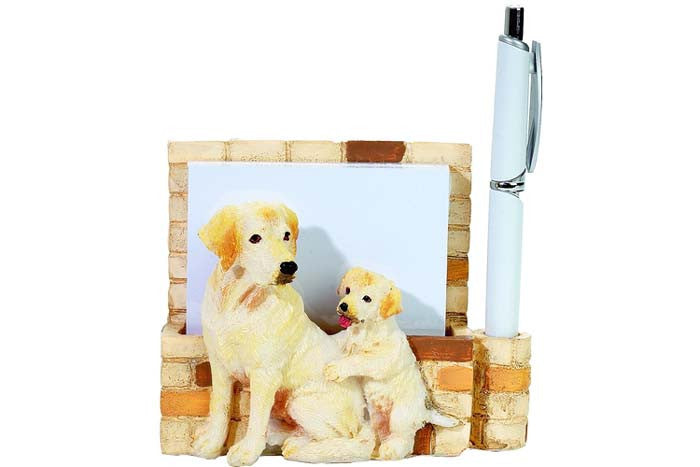 Note Holder Labrador Yellow