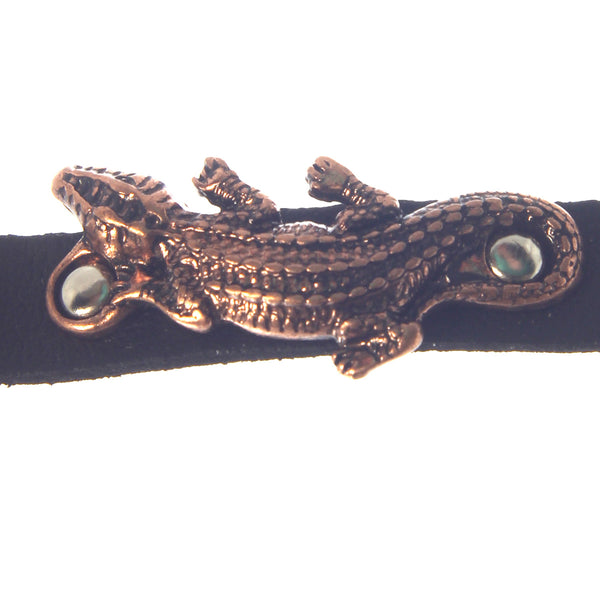 Gator Bracelet Leather