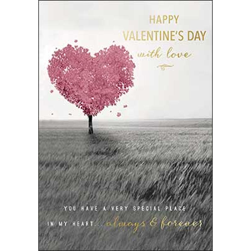 """Happy Valentine's Day with love..."" Card"