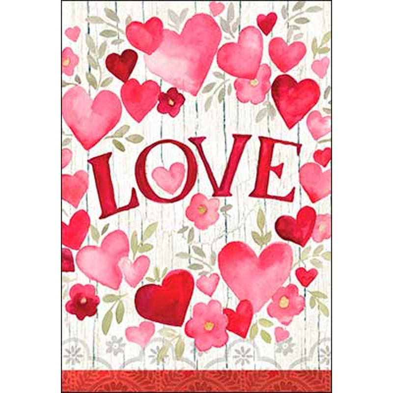 """Love..."" Valentine's Day Card, Someone close to my heart"