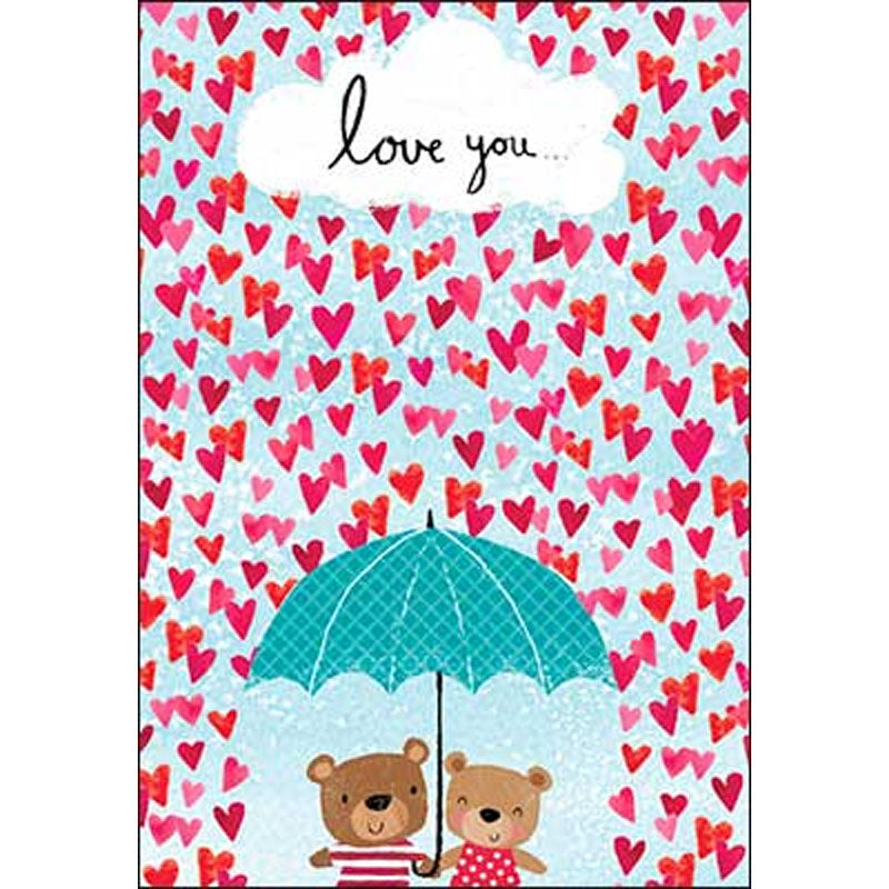 """love you"" Valentine's Card"
