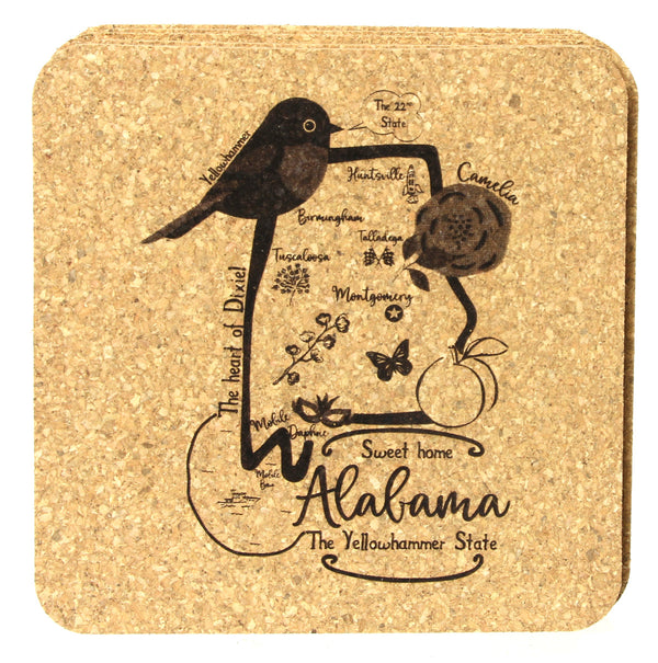 State of Alabama Coaster