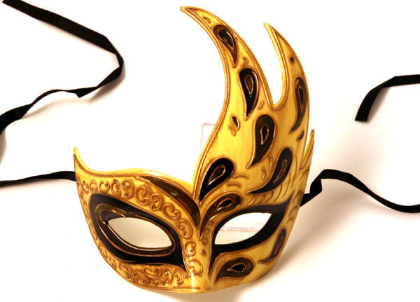 Mystical Mask Olive/Black