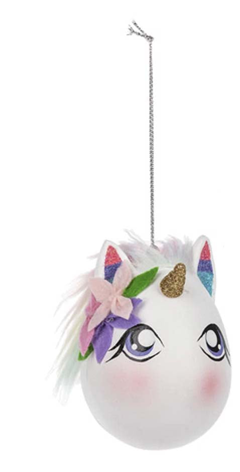 Unicorn Egg Ornaments