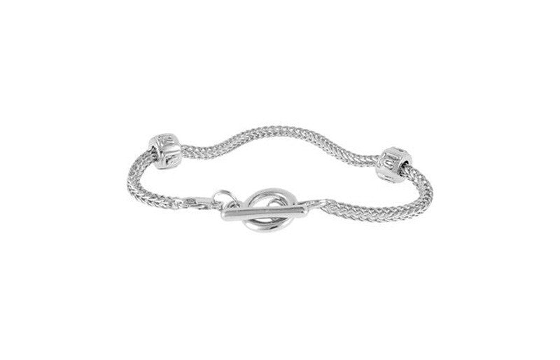 LuLu Flex Chain Toggle Bracelet 7""