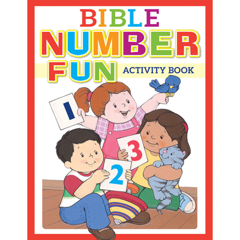 Bible Number Activity Book