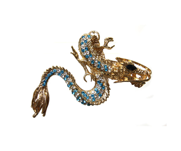 Betsey Johnson-Blue Dragon
