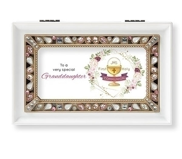 """To a very special Granddaughter..."" Music Box"