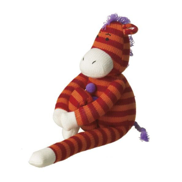 Zelda Small Zebra Sock Plush Toy