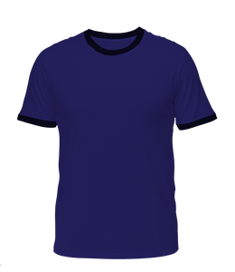 Navy with Black Ringer T-Shirt