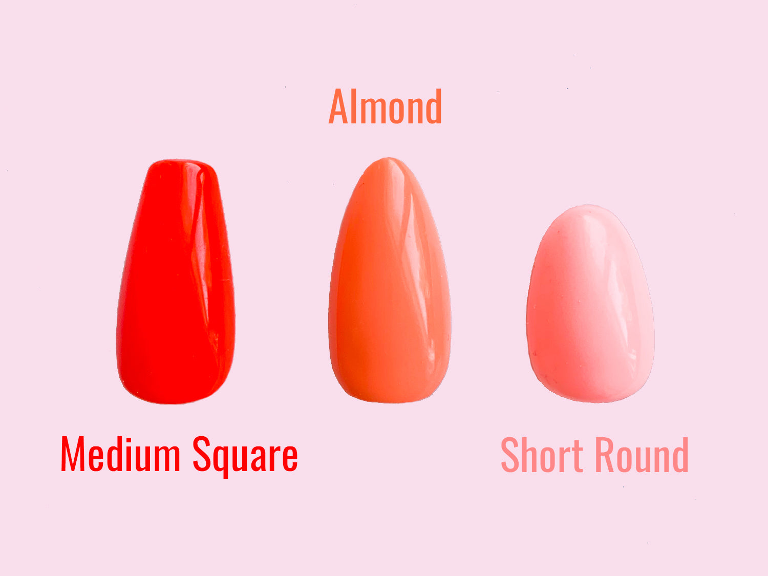 Fingernails are Pretty, Press on nails, Nail size chart, nail size guide