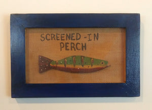 Screened-In Perch