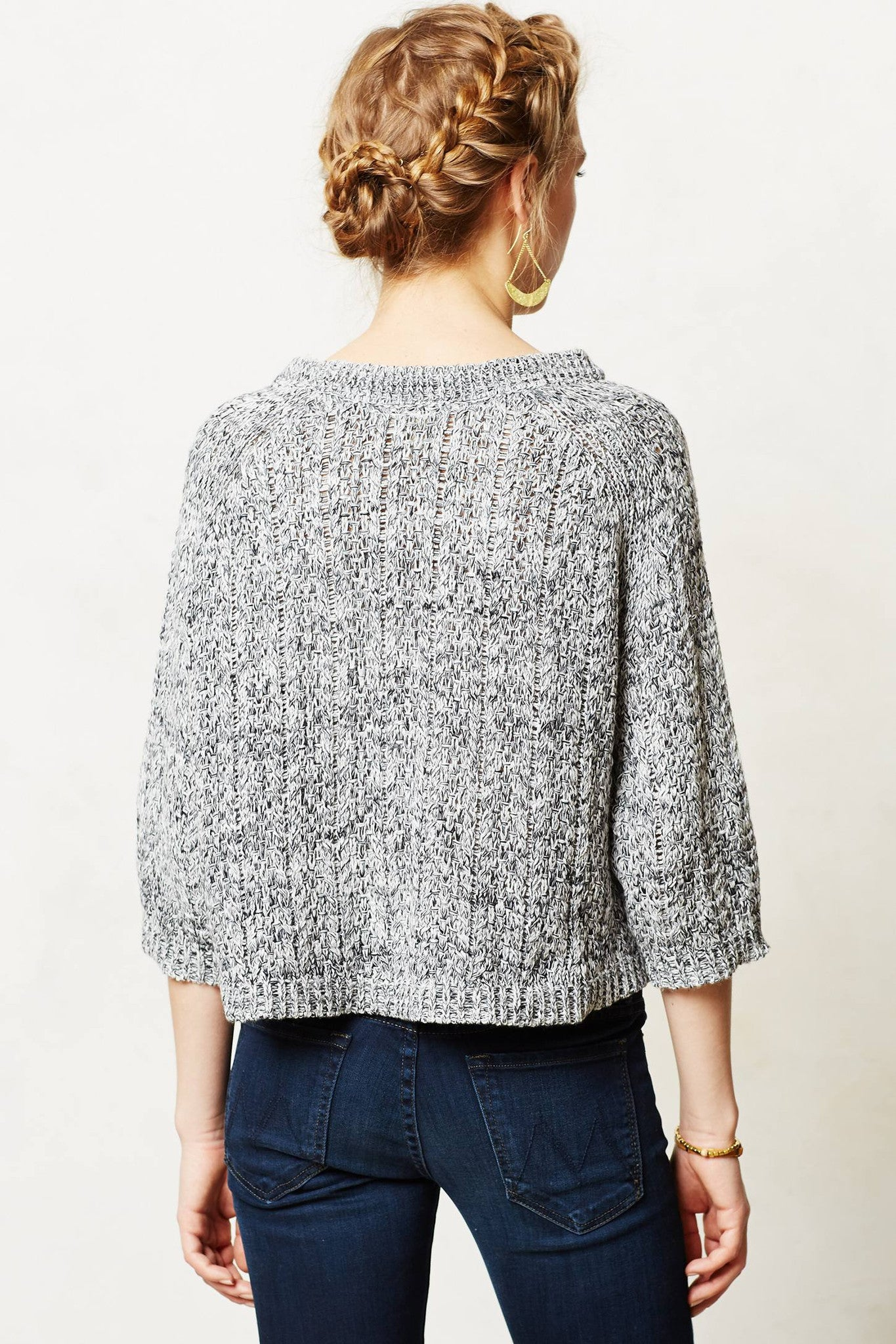 Marled Swing Sweater
