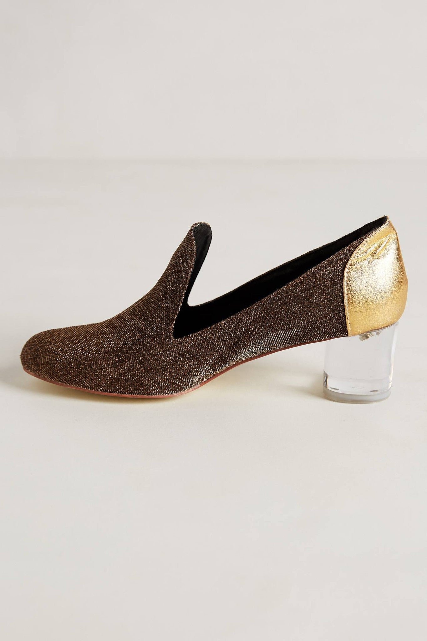 Golden Carrington Loafers