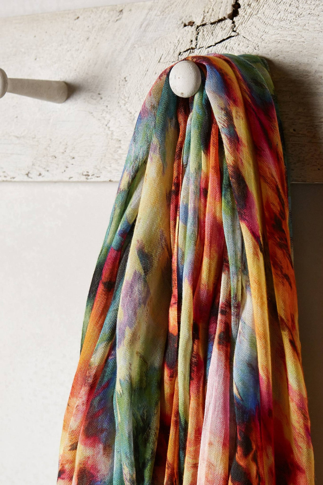 Motted Circle Scarf